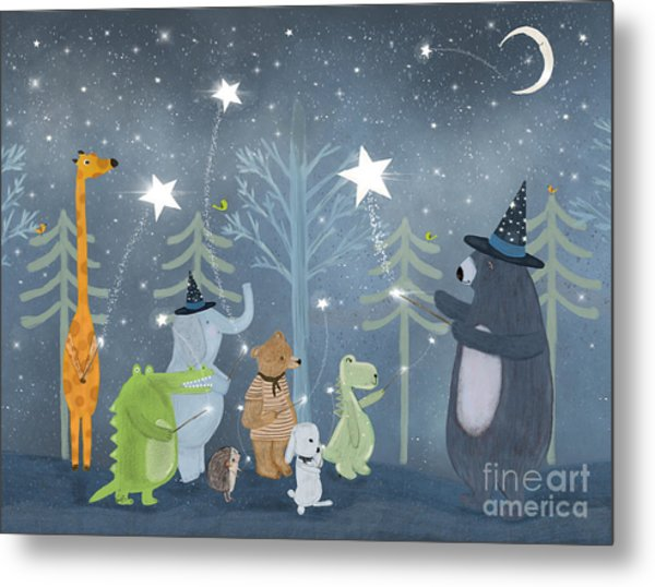Magic Stars Metal Print by Bri Buckley