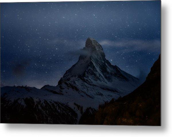 Magical Matterhorn Metal Print