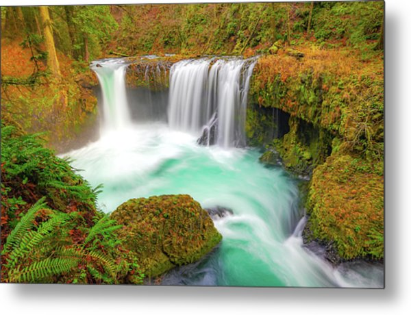Magical Waters Metal Print