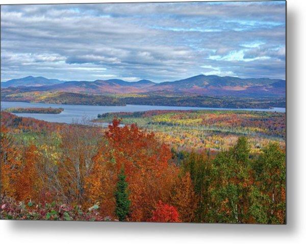 Maine Fall Colors Metal Print