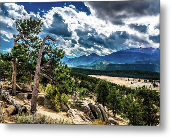 Metal Print featuring the photograph Majestic Clouds by James L Bartlett