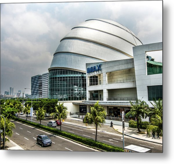 Mall Of Asia 4 Metal Print
