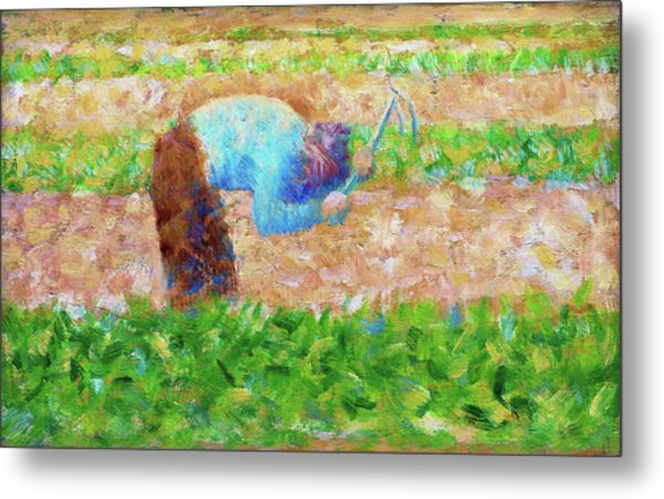 Man With A Hoe - Digital Remastered Edition Metal Print
