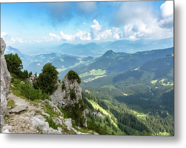 Metal Print featuring the photograph Mannlsteig, Berchtesgadener Land by Andreas Levi