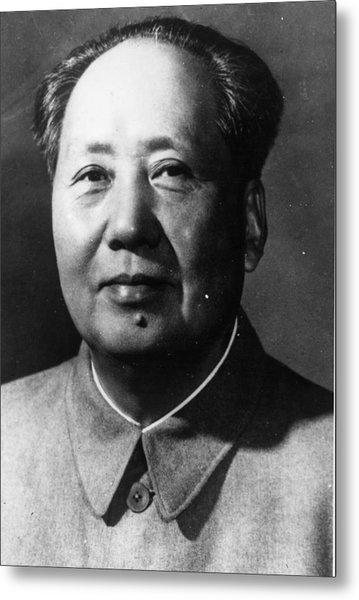 Mao Tse-tung Metal Print by Keystone