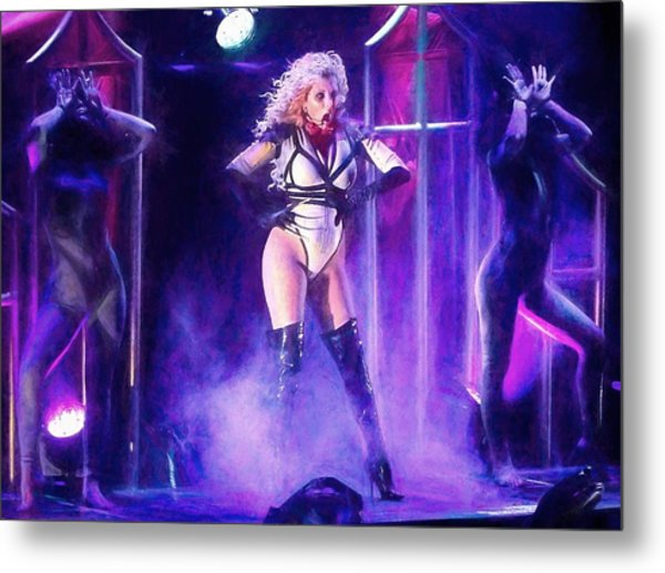 Maria Brink Of In This Moment Metal Print