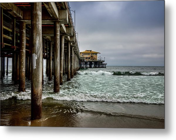 Mariasol On The Pier 2 Metal Print