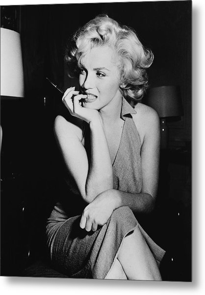 Marilyn Monroe Metal Print by Keystone Features