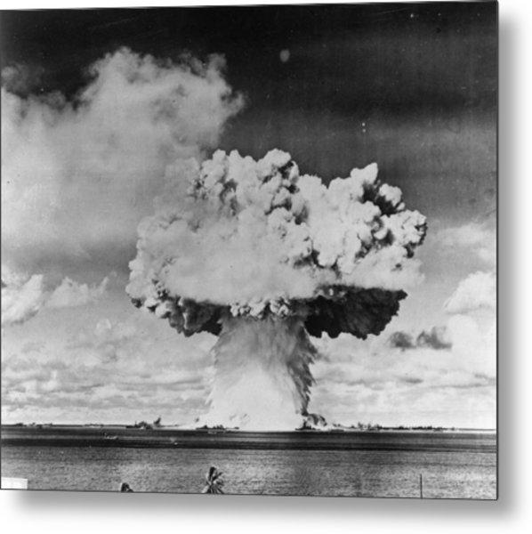 Marine Explosion Metal Print by Keystone