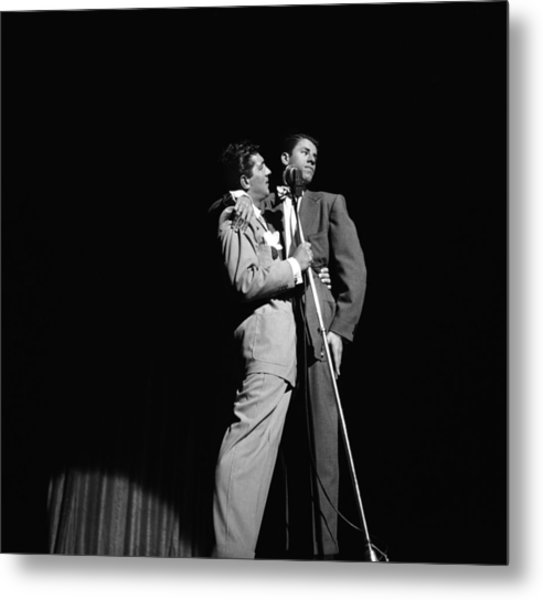 Martin And Lewis At The Paramount Metal Print by Donaldson Collection