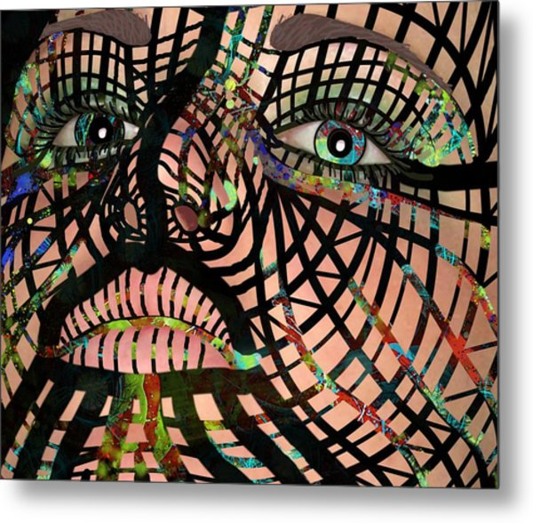 Mask I Am So Much More Than You See Metal Print