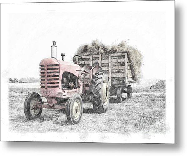 Massey Harris Metal Print