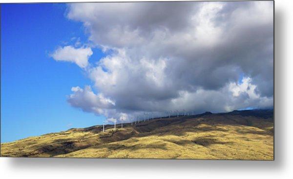 Maui Windmills Metal Print