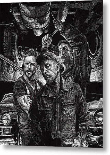 Mechanics Metal Print