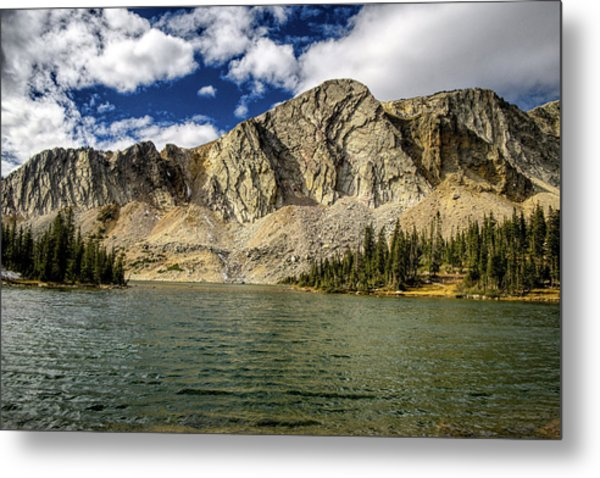 Metal Print featuring the photograph Medicine Bow Peak by Chance Kafka