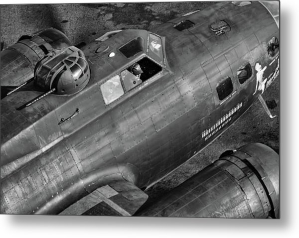 Memphis Belle From On High Metal Print
