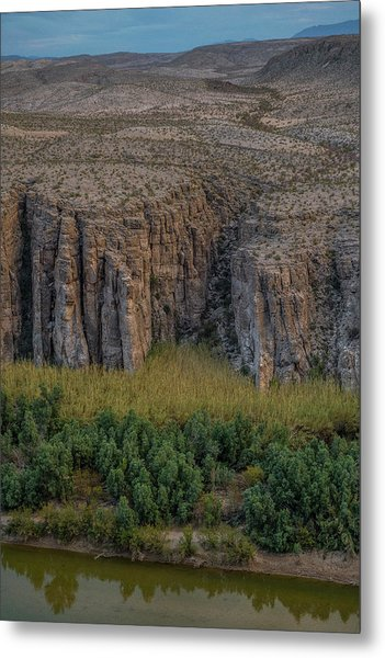 Mexican Box Canyon Metal Print