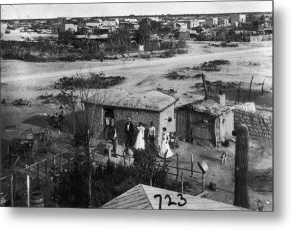 Mexican Immigrants Metal Print by Fotosearch