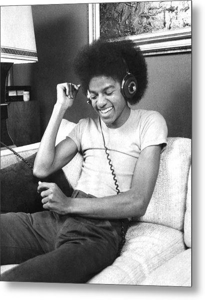 Michael Jackson, The Lead Singer Of Metal Print by New York Daily News Archive