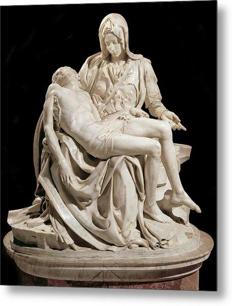 Michelangelo La Pieta Metal Print