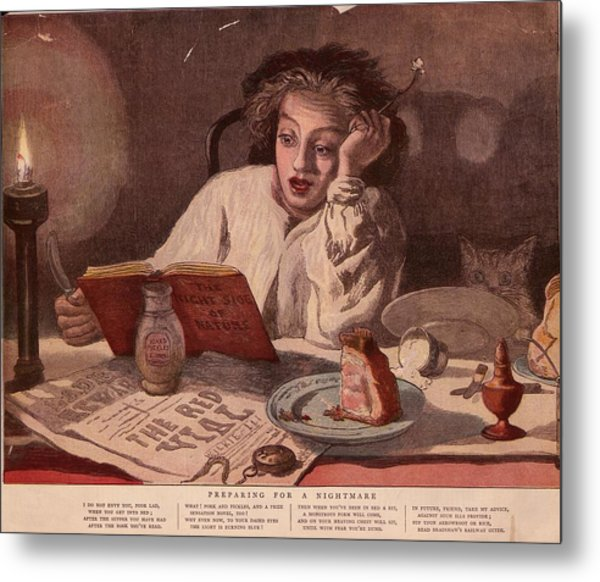 Midnight Snack Metal Print by Hulton Archive