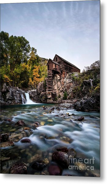 Mill On Crystal River Metal Print