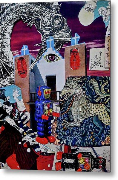 Mind's Eye Metal Print