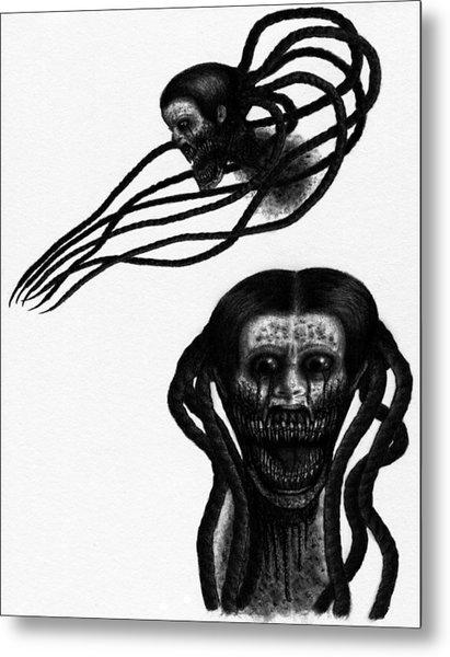 Minna - Artwork Metal Print