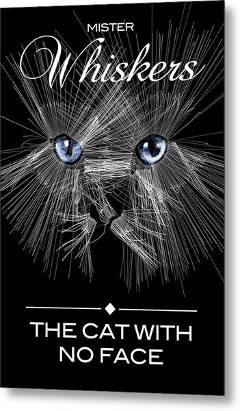 Mister Whiskers Metal Print