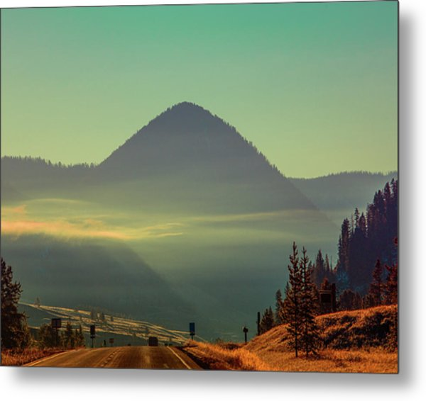 Metal Print featuring the photograph Misty Mountain Morning by Pete Federico