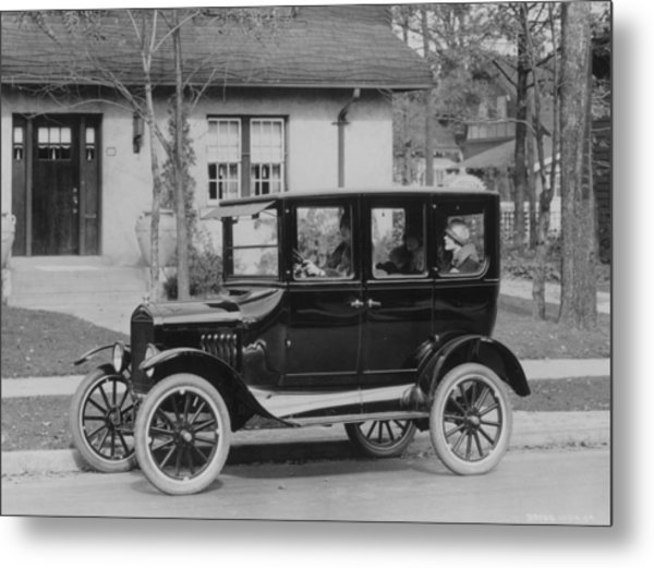 Model T Ford Metal Print by Three Lions