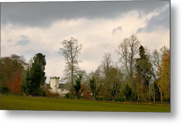 Moniack Castle Metal Print