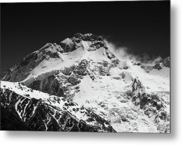 Monochrome Mount Sefton Metal Print