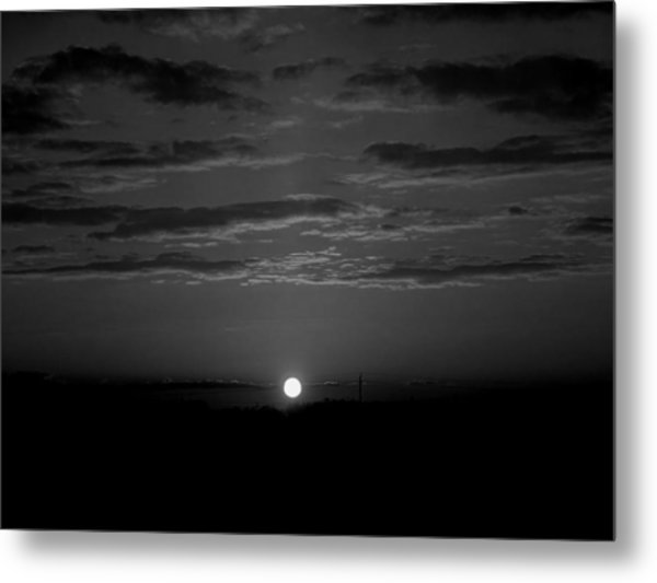 Metal Print featuring the photograph Monochrome Sunrise by Bee-Bee Deigner