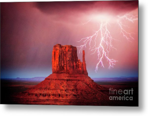 Monsoon Storm Metal Print