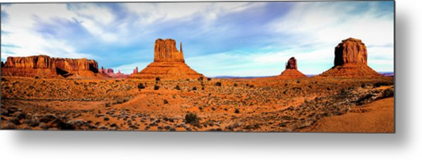 Metal Print featuring the photograph Monument Valley by David Morefield