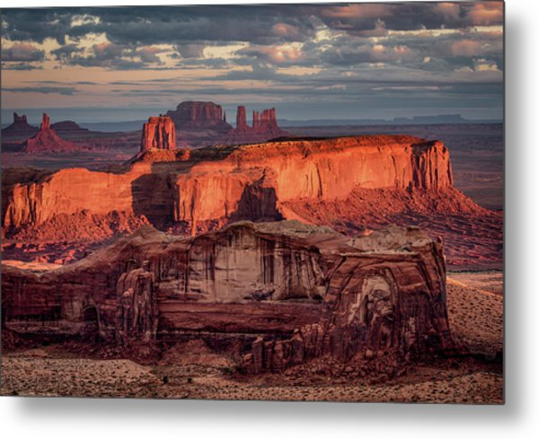 Monument Valley From Hunt's Mesa 3 Metal Print