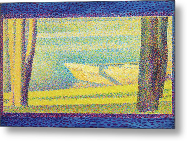 Moored Boats And Trees - Digital Remastered Edition Metal Print