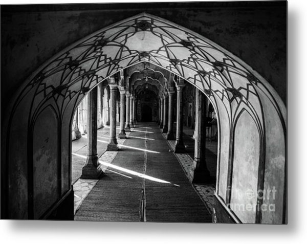 Mosque Entrance Metal Print
