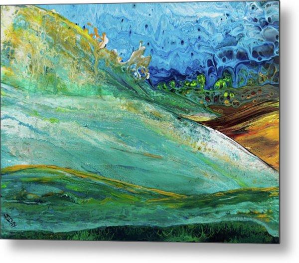 Mother Nature - Landscape View Metal Print