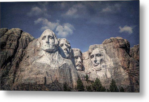 Mount Rushmore I Metal Print