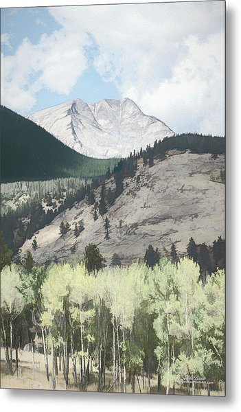 Mount Ypsilon Metal Print