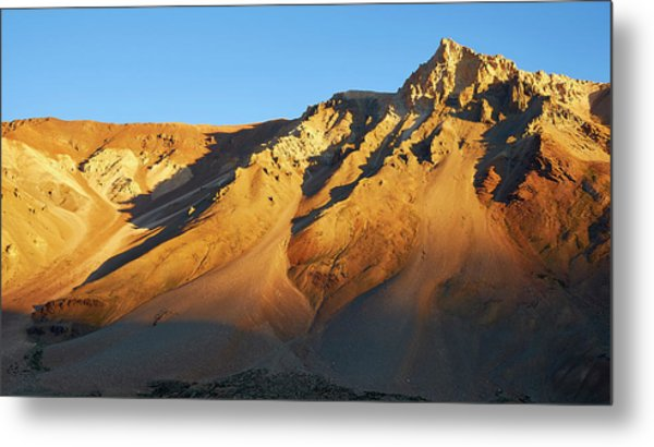 Mountain Gold Metal Print