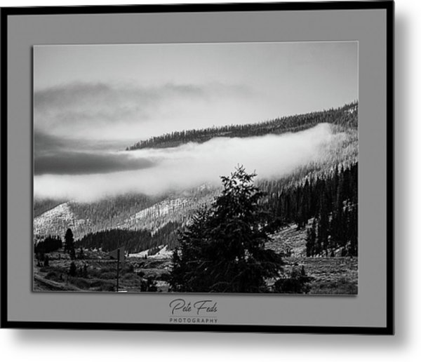 Metal Print featuring the photograph Mountain Mist by Pete Federico