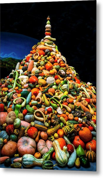 Mountain Of Gourds Metal Print