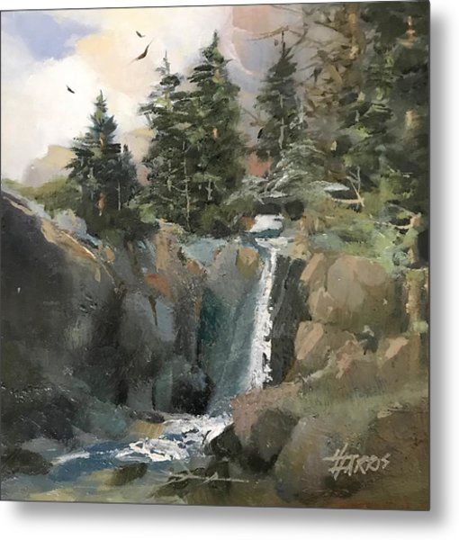 Mountain Waters Metal Print