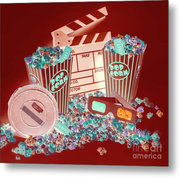 Movie Makers Inc. Metal Print