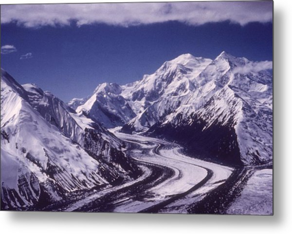 Muldrow Glacier Metal Print by Hulton Archive