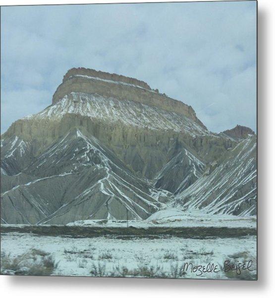 Multi-level Mountains Metal Print