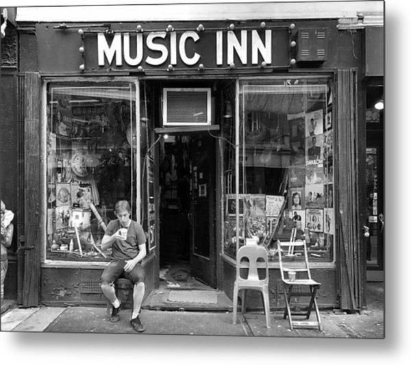 Music Inn Metal Print